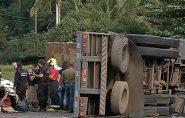 Preso dono de empresa do caminhão que provocou tragédia de Guarapari