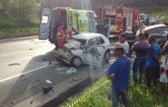 Acidente na BR-101 deixa três mortos e um ferido no ES