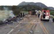 Veja os nomes das vítimas do acidente na BR-101, em Guarapari