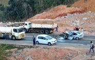 Morre pastor vítima de acidente envolvendo carreta em Ibiraçu