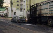 Suspeito de incendiar carro em Colatina é preso em Ecoporanga