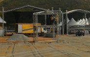 74 anos: Área de festa em Mantena pronta para receber convidados