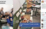 Brasil: estudantes fazem churrasco em sala de aula. 'Um dia normal'