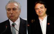 Michel Temer move ações na Justiça contra Joesley Batista por calúnia, injúria e difamação