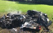 Motorista destrói Ferrari uma hora após comprá-la, na Inglaterra