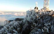 Gelo no Pico da Bandeira faz procura pela região do Caparaó aumentar