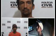 Homem é preso sob acusação de furtos e roubos em Mantena