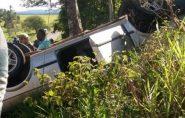 Três mortos e quatro feridos após carro capotar na Bahia