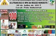 FESTA NO CAMPO DO PÓLO INDUSTRIAL DIA 30.07.2017, EM COMEMORAÇÃO AO DIA DO AGRICULTOR COM SORTEIO DE 100 SACAS DE CAFÉ.
