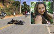 Jovem tem parte de pé amputado após grave acidente com moto em Barra de São Francisco