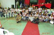 Polícia Militar e Secretaria de Educação de Água Doce realizam formatura do PROERD
