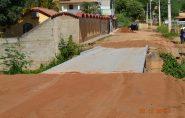 Barra de São Francisco recebe doação de asfalto ecológico; avenida será pavimentada de graça