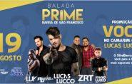 Quer ficar ao lado do cantor Lucas Lucco no Camarim em Barra de São Francisco??? Participe da promoção!