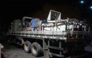 Após denúncia, Secretaria de Saúde começa a retirar móveis sucateados do hospital Dra. Rita de Cássia