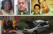 Quatro pessoas da mesma família morrem em acidente quando seguiam para Mantenópolis