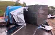 Motorista da carreta usou cocaína e rebite antes de acidente na BR-101