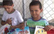 Crianças de Ecoporanga são primeiras no Brasil a receber livros do Programa 1BOOK4LIFE