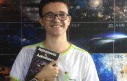 Estudante capixaba desbanca 3 mil em busca de vaga em Olimpíada de Astronomia