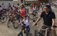 Dia dos Pais foi comemorado em grande estilo com Passeio Ciclístico em Mantena