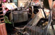 Incêndio destrói casa onde crianças dormiam, no Norte do ES