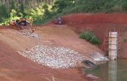 Barragem garante 1 ano de água em comunidade na seca em Colatina