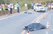 Pai e filha morrem em acidente na BR-381 em Nova Venécia