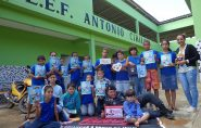 11º BPM promove palestra na Escola Antônio Cirilo. Confira as fotos