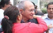 Governador assina ordem de serviços em Ecoporanga para reinício do asfaltamento da ES-320; confira as fotos