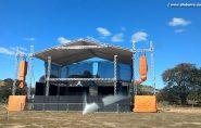 Estrutura quase pronta para Festa de Aniversário de Água Doce do Norte; confira a programação