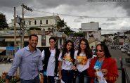 3º Retiro da Catequese na Paróquia de Barra de São Francisco. Confira as fotos