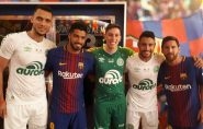 Sem Neymar, Barcelona faz 5 a 0 na Chapecoense em dia de homenagens