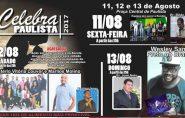 Celebra Paulista começa nesta sexta-feira; confira a programação