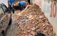 Prefeitura de Barra de São Francisco vai multar quem jogar entulho ou lixo nas ruas