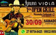Show de Bruna Viola no 1º Open Grill deve bater recorde de público na Fazenda Corteletti
