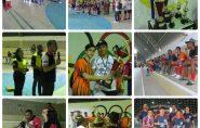 Jovens participam do Campeonato das Tribos em Águia Branca. Confira as fotos