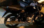 Força Tática da PM recupera em Barra de São Francisco moto roubada em Ecoporanga