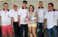 Sortuda!!! Jovem Daiana Machado ganha R$ 17 mil no Bingo da Loja Maçônica em Barra de São Francisco