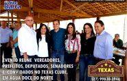 Encontro político reuniu vereadores, prefeitos, deputados e senadores em Água Doce do Norte. Confira as fotos
