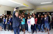 Secretário Estadual de Educação visita Escola  Olegário Martins em Água Doce do Norte