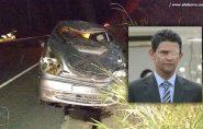 Empresário sofre acidente próximo à Vila Paulista, em Barra de São Francisco