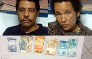 Polícia Militar prende casal e recupera dinheiro roubado em Mantenópolis