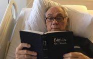 Com câncer, apresentador Marcelo Rezende tem falência múltipla de órgãos
