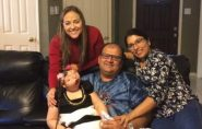Francisquense Vitória Marchioli, que nasceu sem rosto, chega aos nove anos e precisa de ajuda para cuidados médicos