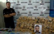 Polícia prende traficante que movimentava 5 toneladas de maconha por ano no ES