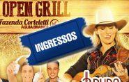 Confira quem ganhou ingresso para o 1º Open Grill na Fazenda Corteletti