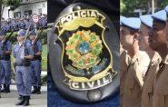 Edital dos concursos para Polícia Militar, Civil e Bombeiros deve ser publicado nas próximas semanas