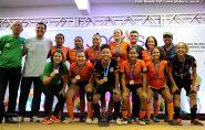 Futsal Feminino de Barra de São Francisco é Bicampeão Estadual em Guarapari
