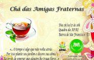 Fraternidade Feminina promove Chá Beneficente em prol dos alunos da APAE de Barra de São Francisco; participe