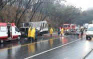 Cinco pessoas morrem carbonizadas em acidente com carro da prefeitura de Central de Minas