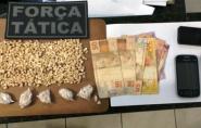 PM apreende 790 pedras de crack em São Gabriel da Palha